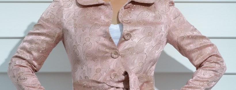 Current Boutique Pink Coat