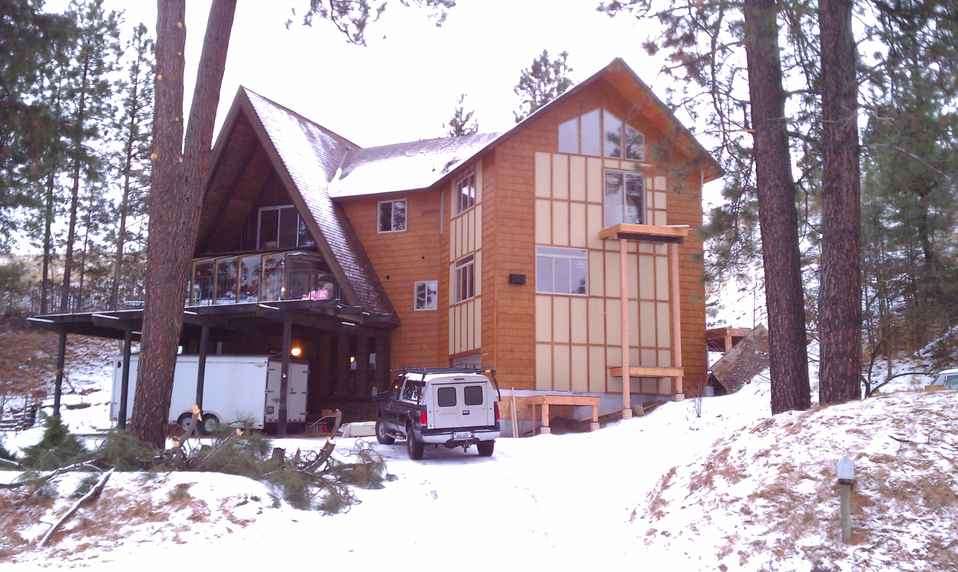 1969 AFrame Home Addition