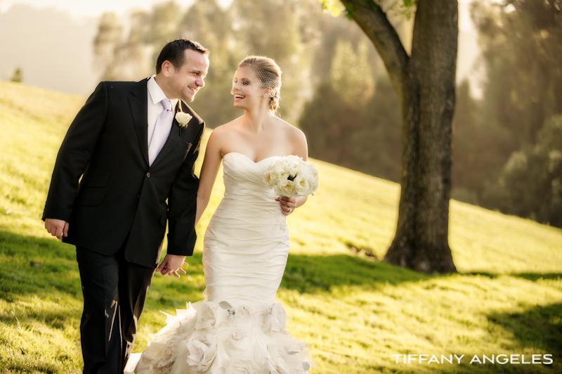 Outdoor Garden Wedding in Malibu  tiffanyangelesweddingphotographycom