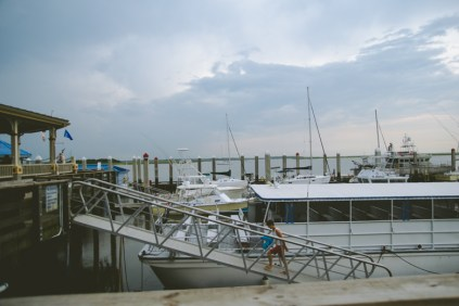We walked over to the dock of the island to explore what the island had to offer. Other than food & souvenir shops, this dock was the stinkiest.