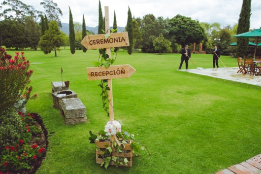 The beautiful wedding between Andrea & Josh took place at Hacienda Marquez.