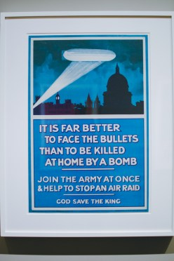 WWII propaganda posters were really intimidating.