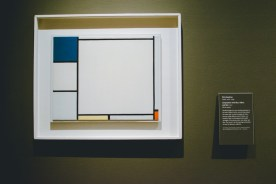 It's not a museum without some Mondrian!