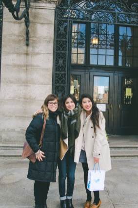 L-R: Cassy, Gaby, & Me. Fun fact: they share the same last name. Guess I have a thing for roommates with their surname!