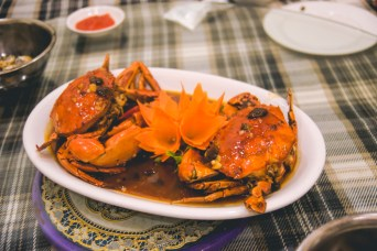 Tamarind Crab, my ultimate favorite