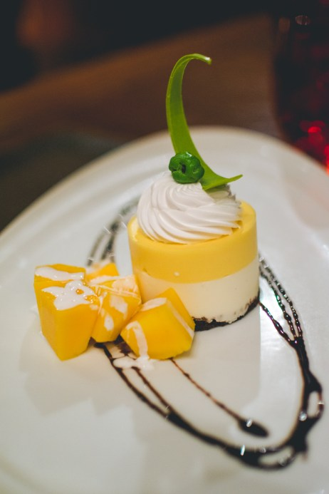 Mango dessert.