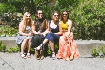 Kristin, Brook, Sandia, & Paige