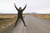 Jumping for Hekla