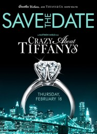 Save the date tiffany