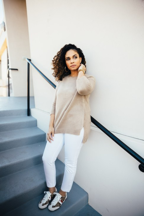 How To Transition Your Favorite Sweater Into Your Spring Wardrobe-Tiffany D. Brown