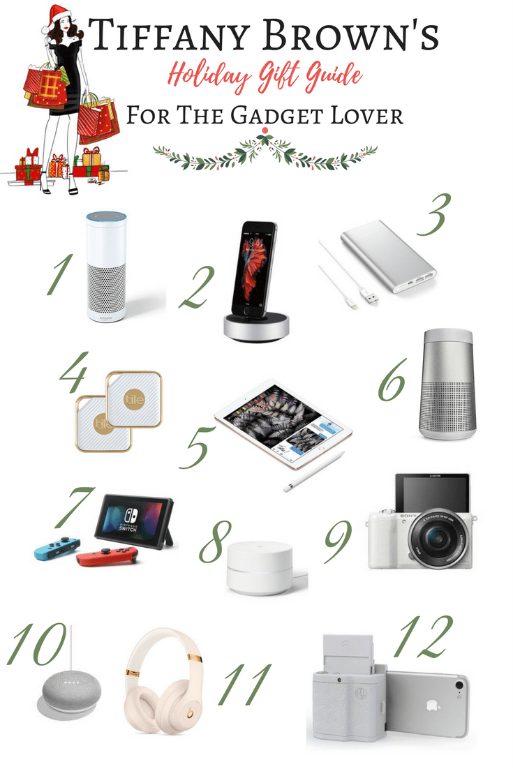 Holiday Gift Guide For The Gadget Lover-Tiffany D. Brown