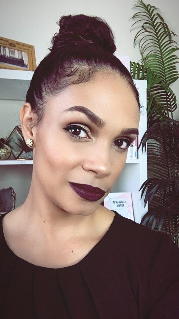How To Wear Dark Lipstick-Tiffany D. Brown