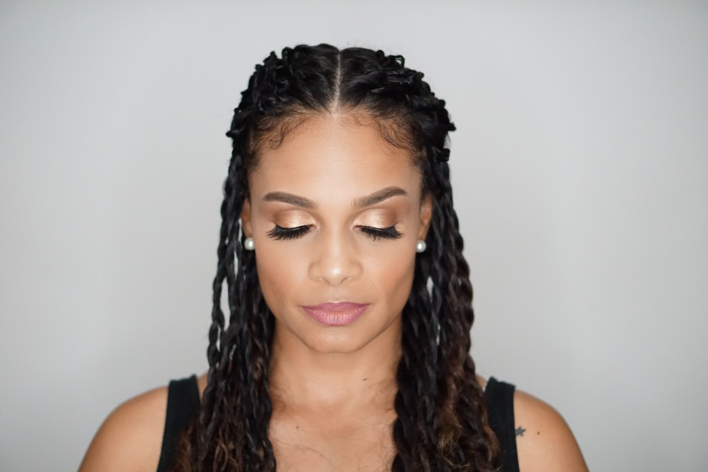 Norvina Palette: You Should Try This Easy Makeup Look-Tiffany D. Brown