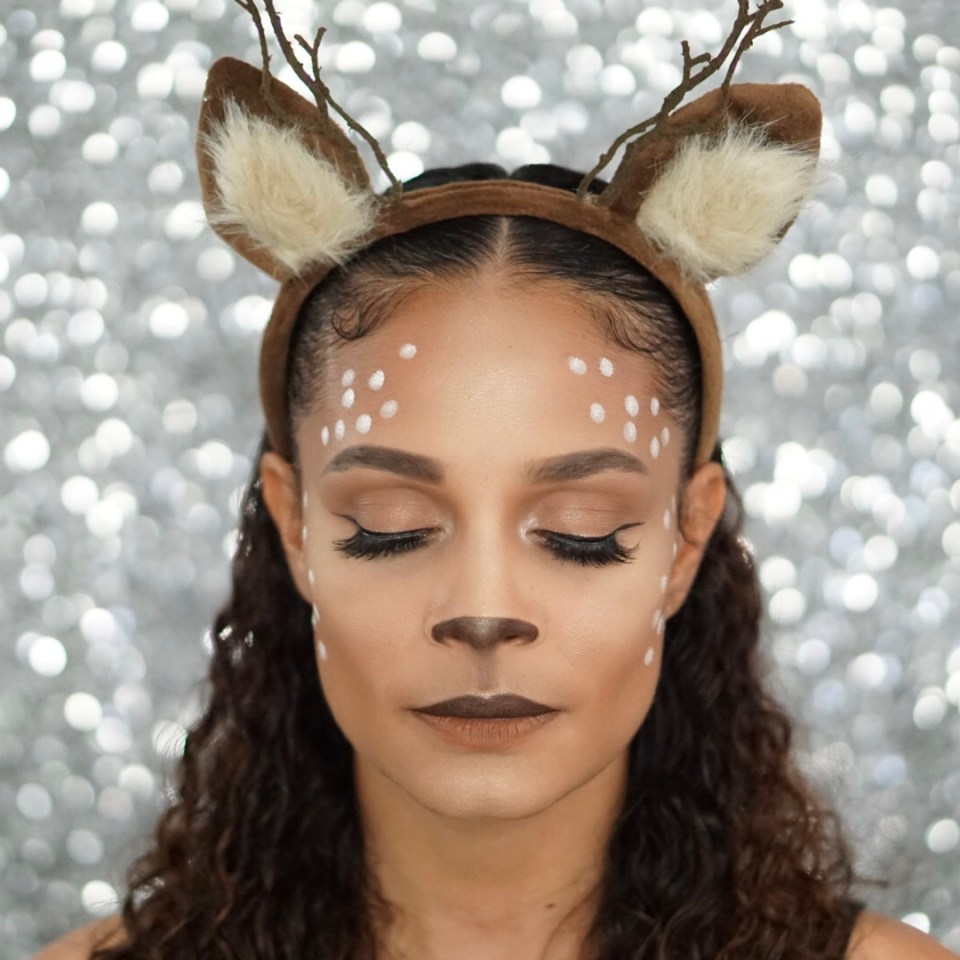 The Deer Makeup Look You Need To Try For Halloween This Year-Tiffany Nicole Brown