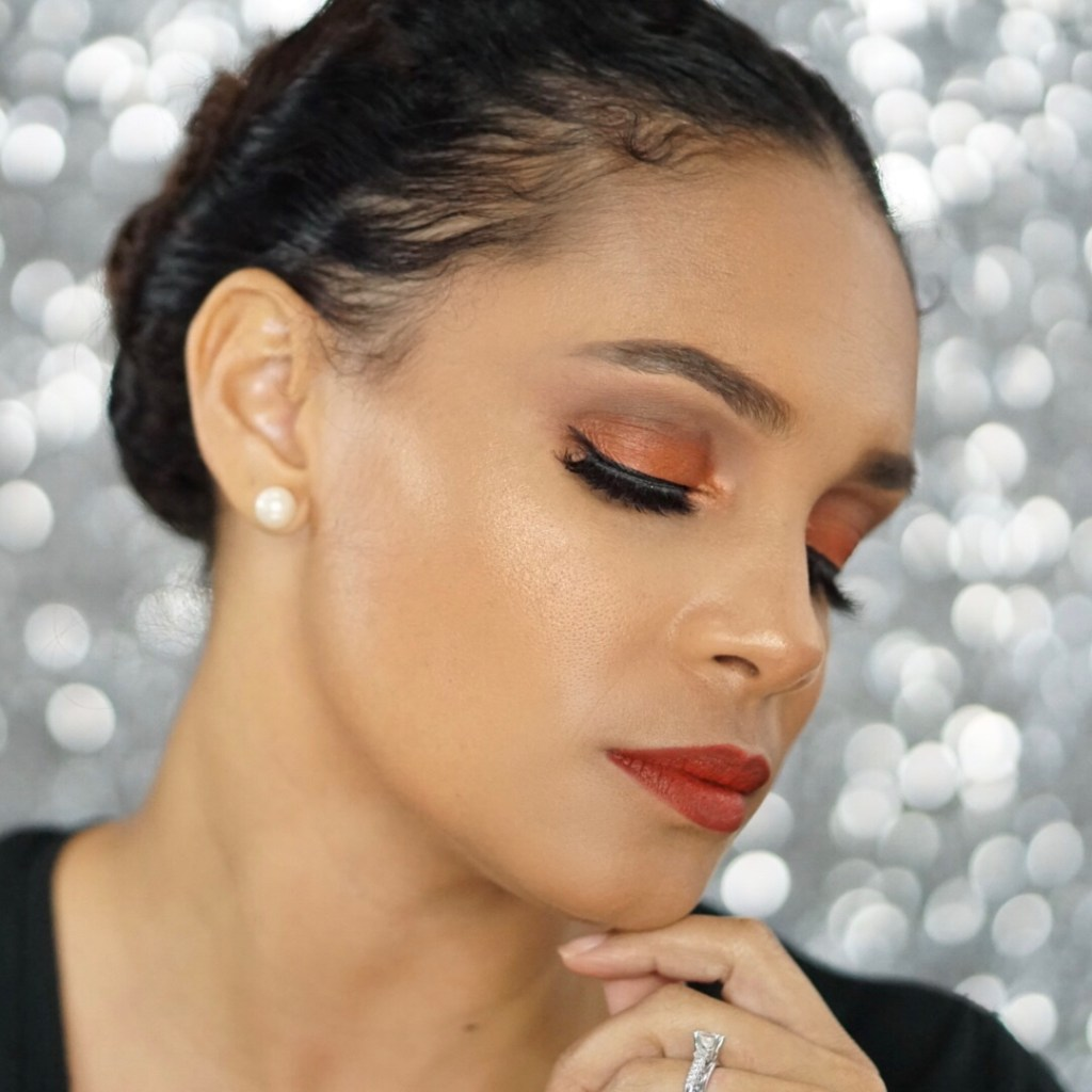 The Makeup Look You Need To Spice Up Your Fall Makeup Routine-Tiffany Nicole Brown