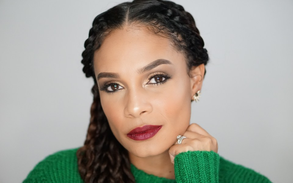 You Need To Try This Super Simple Holiday Glam Makeup Look-Tiffany Brown