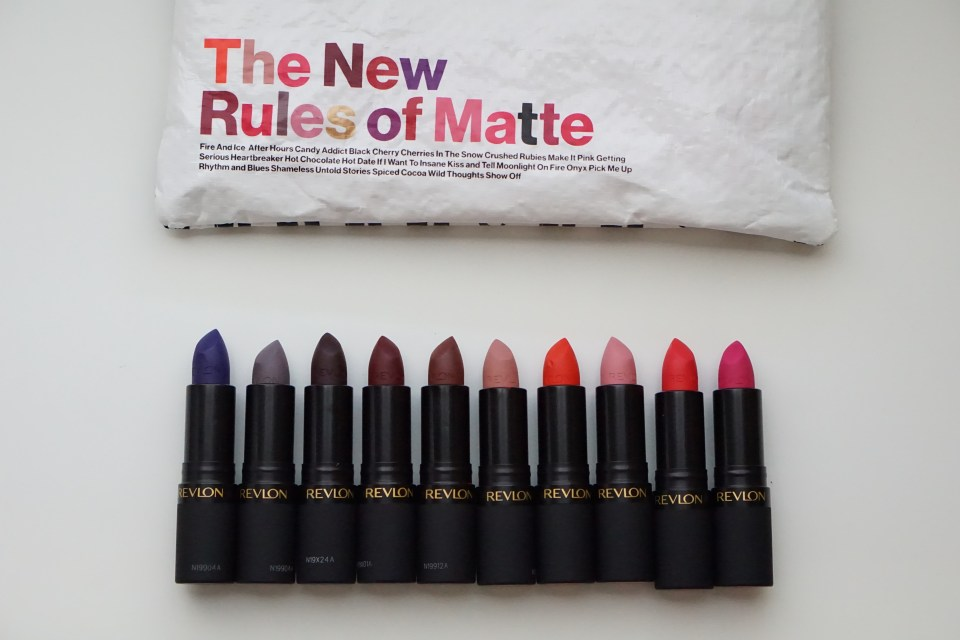Product Review: The New Luscious Matte Lipsticks-Tiffany D. Brown