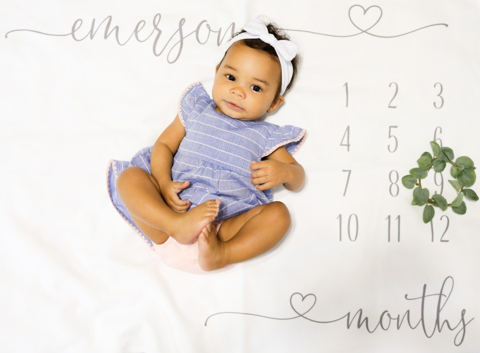 Baby: 9-Month Milestone Update For Baby E-Tiffany D. Brown