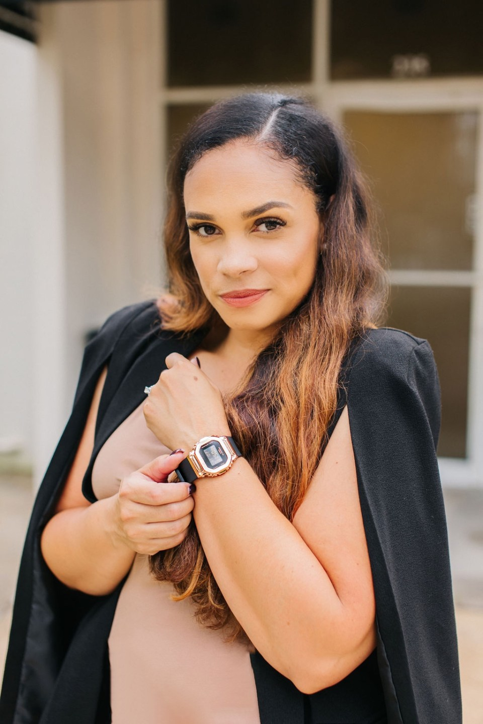 Product Review: NEW Compact G-SHOCK Women Watch - GMS5600-Tiffany D. Brown