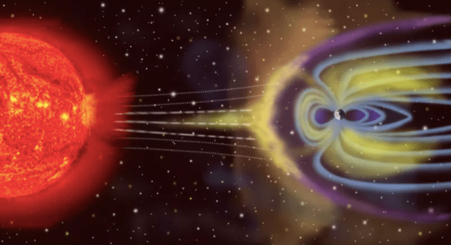 The Solar Wind Has Arrived!