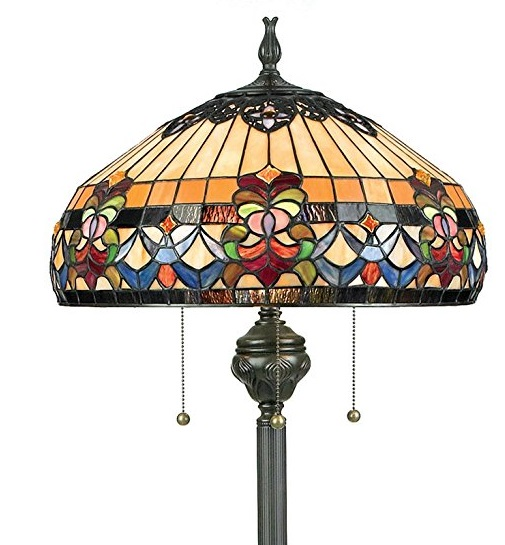 27261057516f We are pleased to have this lamp in the top five Tiffany style floor lamps.