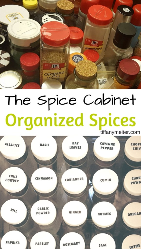 Organize Your Spices, Kitchen Organization, Spice Cabinet