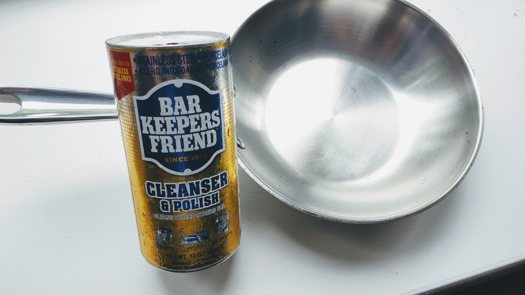 Clean Stainless Steel, Bar Keepers Friend, Stainless Steel Cookware