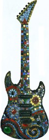 Electric Guitar Front full