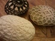 Crocheted Pebbles