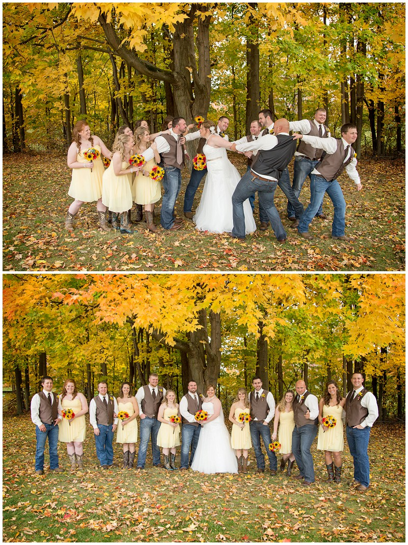 Cory & Stormie Rustic Fall Wedding Bronson