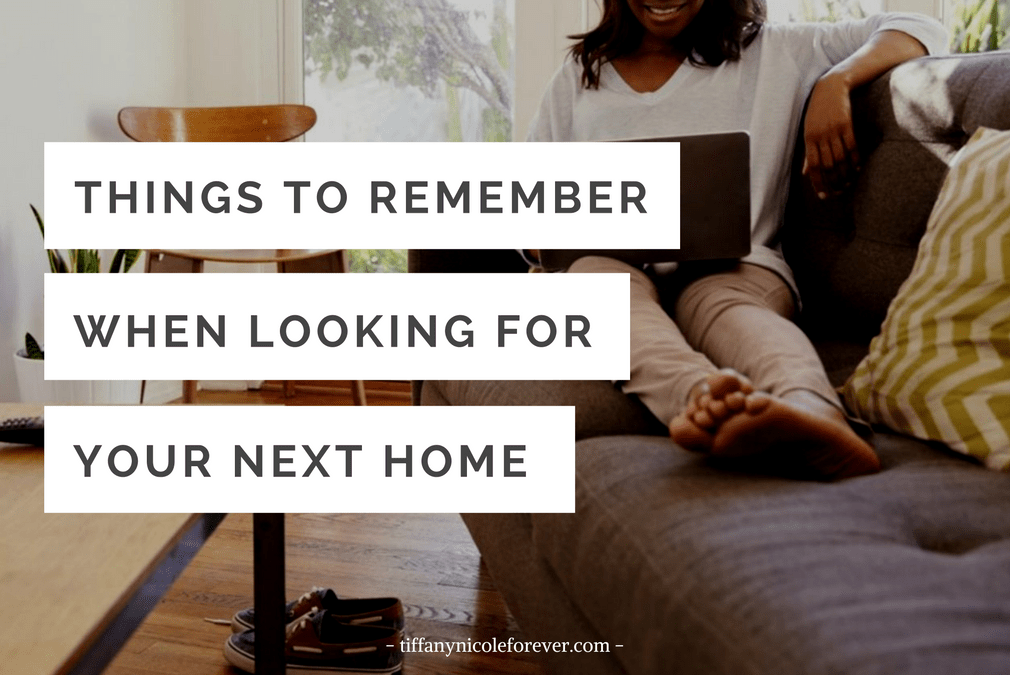 The Intentional Home Search - Tiffany Nicole Forever Blog