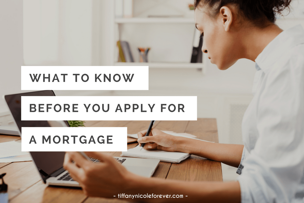 what to know before you apply for a mortgage