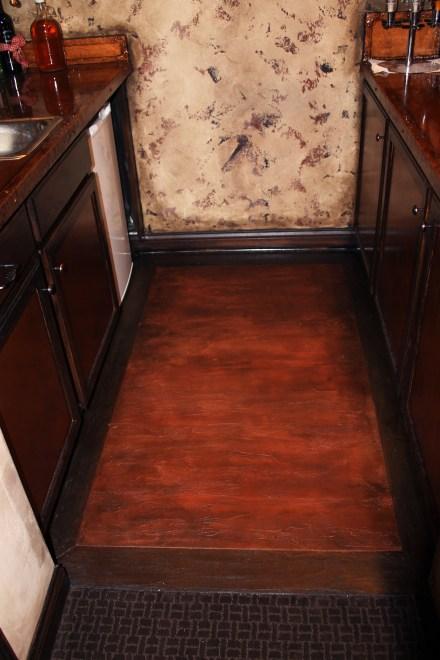 Bar Floor After