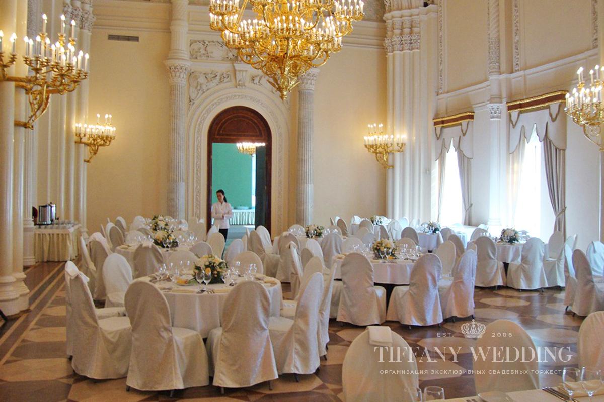 свадьба в мраморном дворце