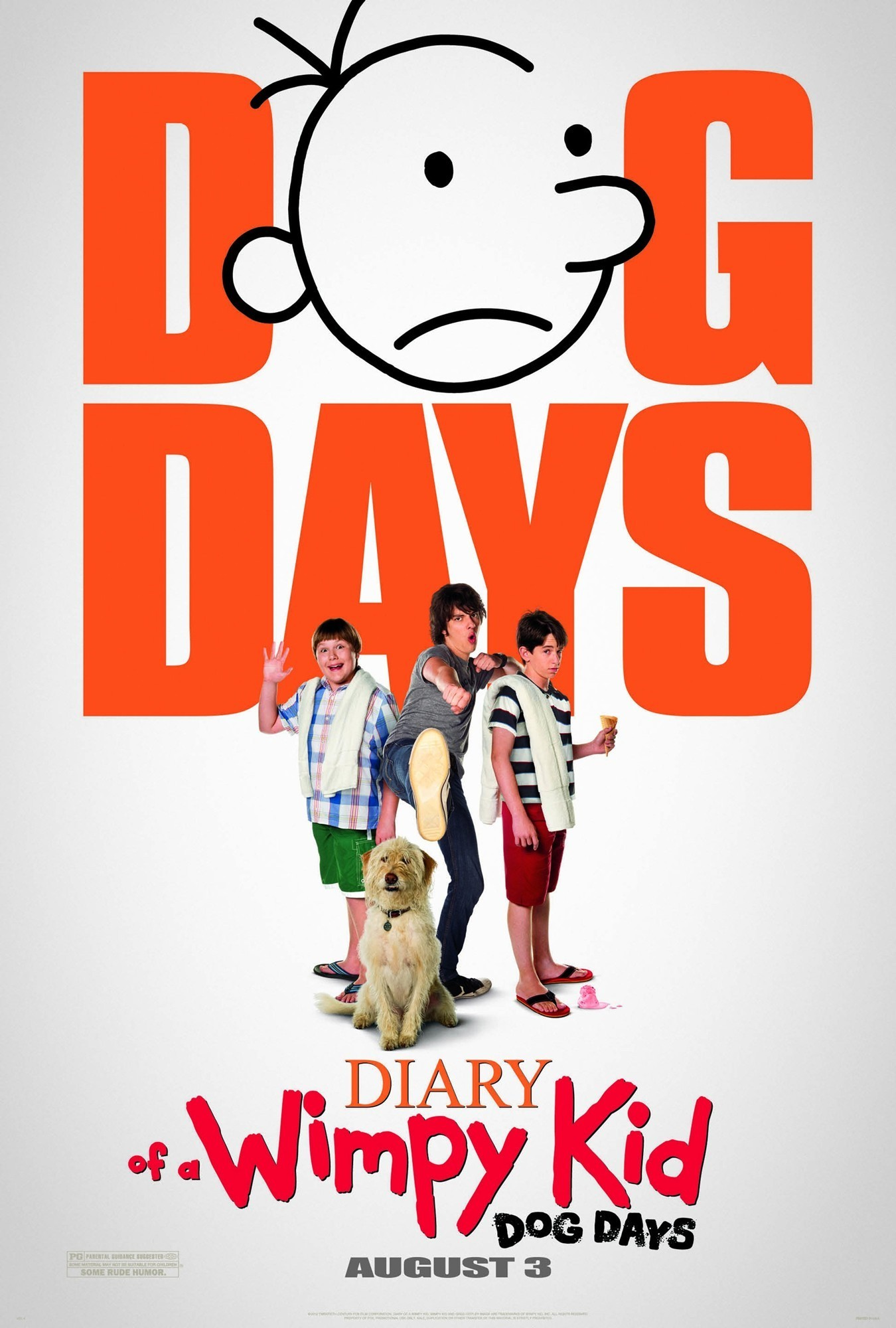 Diary of a wimpy kid dog days movie review by tiffanyyong diary of a wimpy kid dog days solutioingenieria