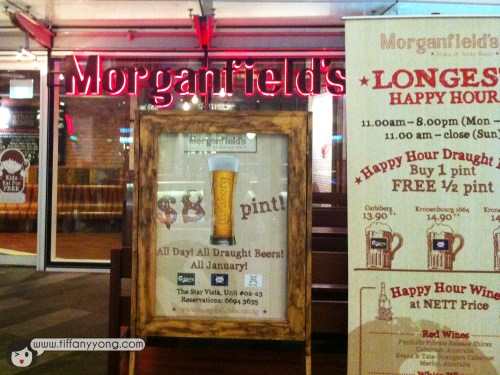 Morganfield's at Star Vista