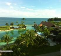 Empire hotel view