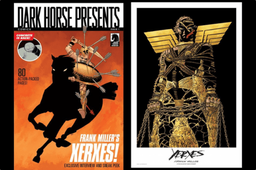 Frank Miller's graphic novel 'Xerxes
