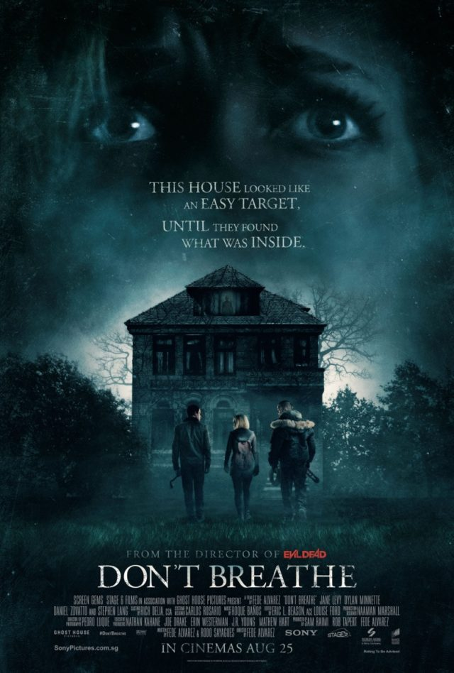 Don't Breathe Movie Poster