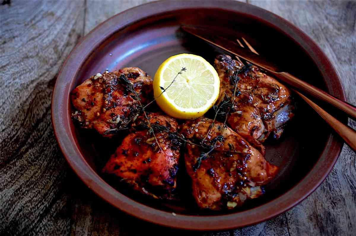 molasses chicken
