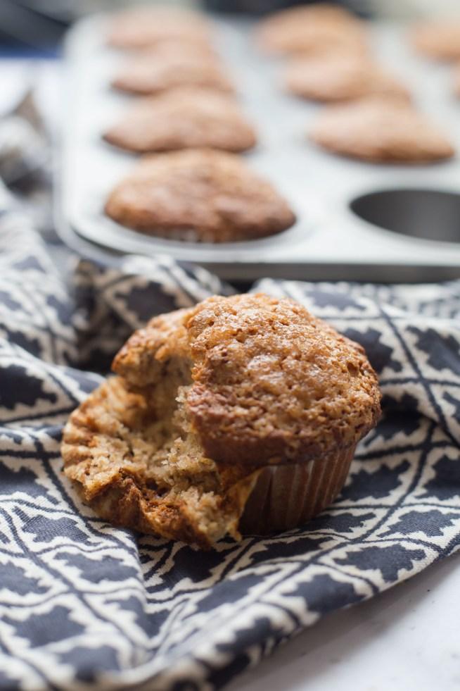 Healthy-ish Banana Muffins
