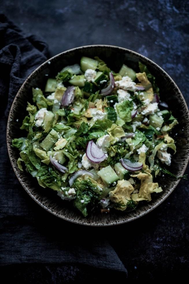 Chopped Feta Salad