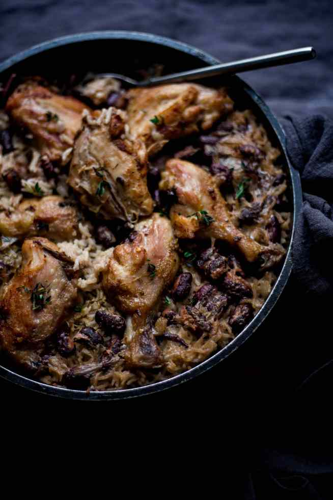 One pot Jerk Chicken with Rice and Peas