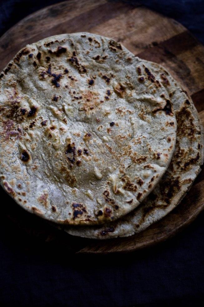 Gluten Free Millet Roti, Bajra Rotla