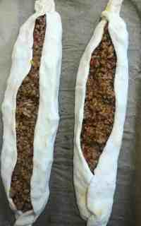2 Pide on baking tray