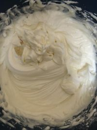 Cream Cheese mixture whisked in large bowl