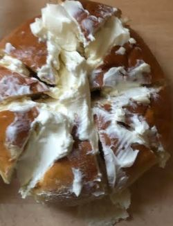 Bun filled with Cream Cheese