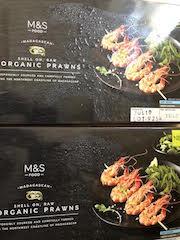 2 boxes M&S Prawns
