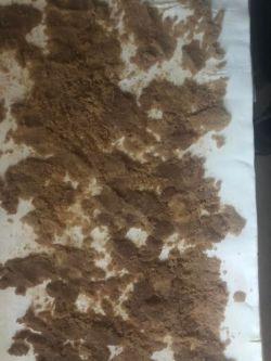 Cinnamon Sugar on puff pastry sheet