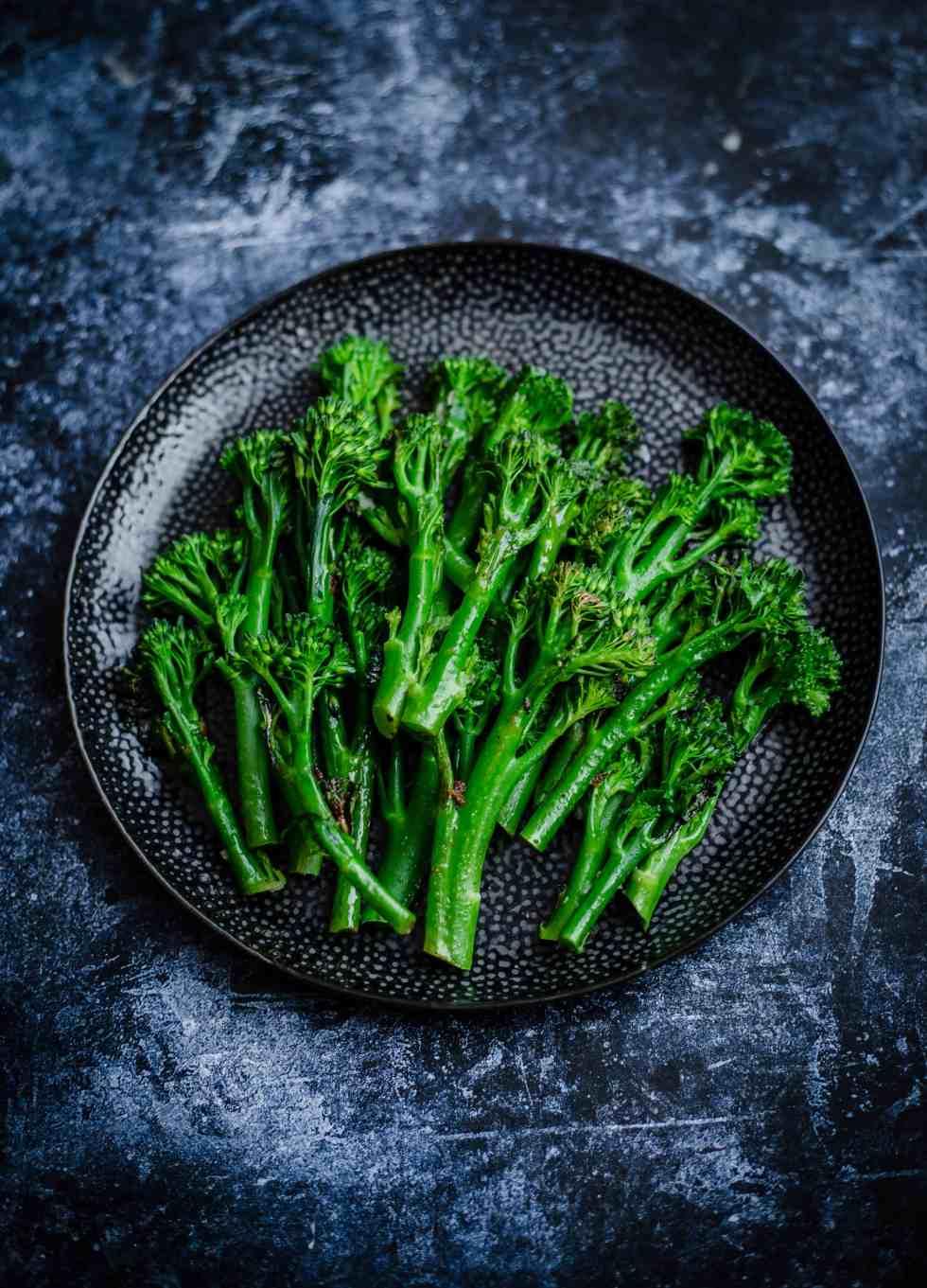 Tendereste Broccoli in a plate